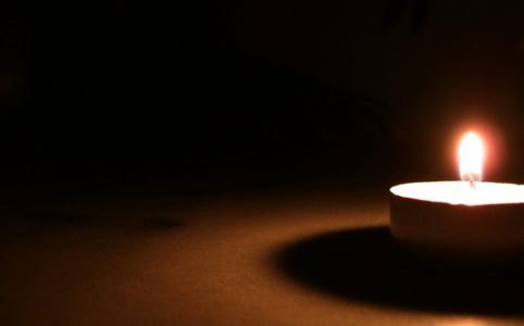 Earth Hour candle light