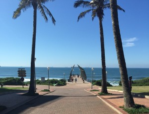 A view of the famous uMhlanga pier. Durban is one of the most beautiful cities in winter. It begs for us to spend time outdoors, lapping up the mild weather and bright sunshine.