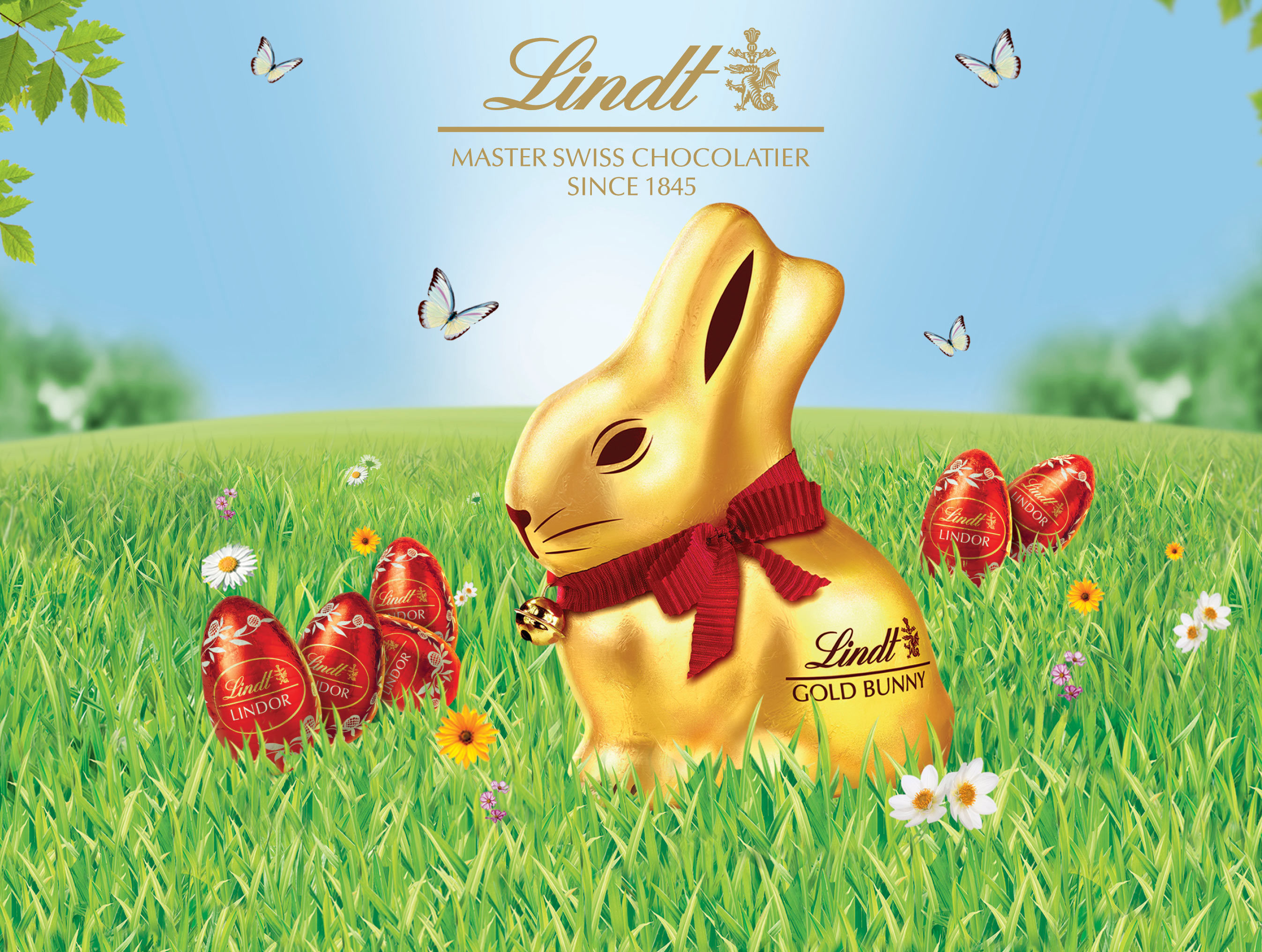 Join in the Lindt Easter hunt