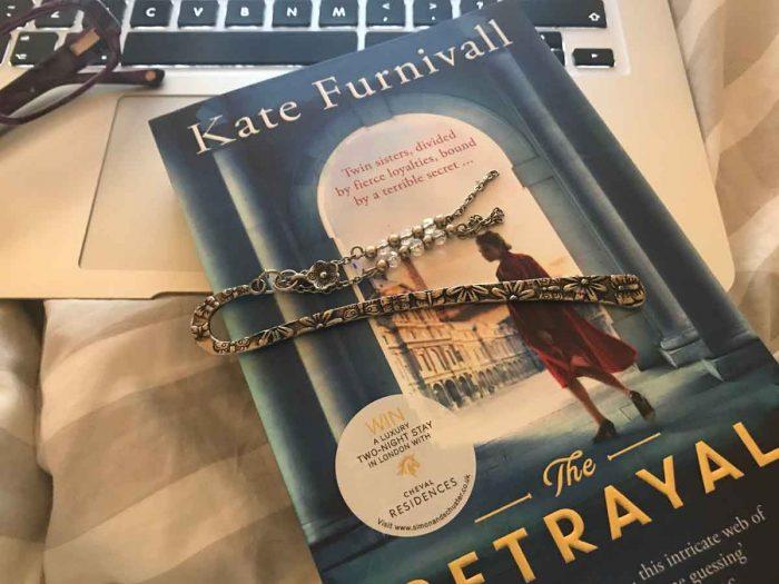 justmeneesha, book, reading, kate furnivall, the betrayal