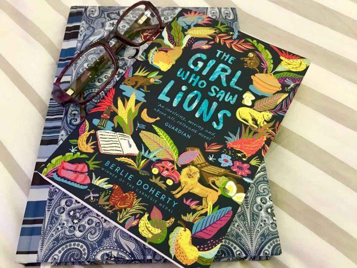 justmeneesha, books, reading, the girl who saw lions, berlie dohety