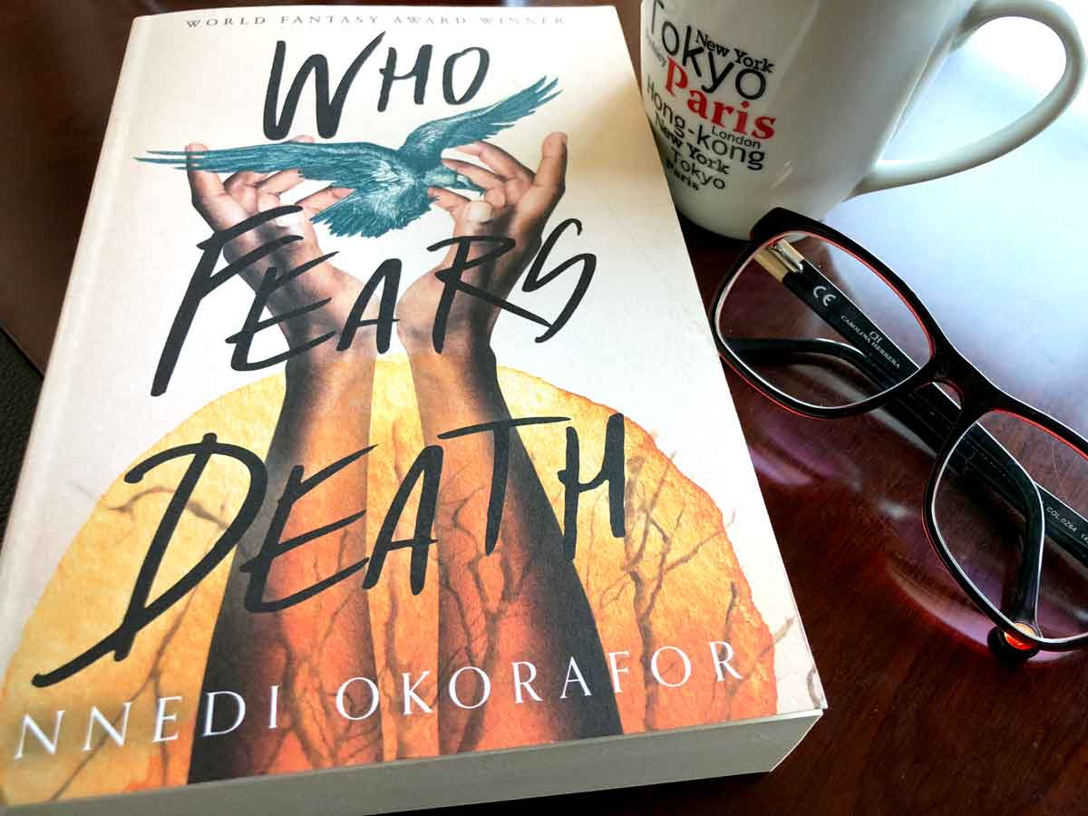 justmeneesha, Meneesha Govender, books, reading, Who Fears Death, Nnedi Okorafor