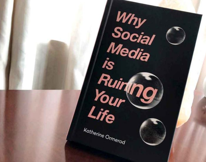 JustMeneesha, Meneesha Govender, book, reading, Why Social Media is Ruining Your Life, Katherine Ormerod, Durban