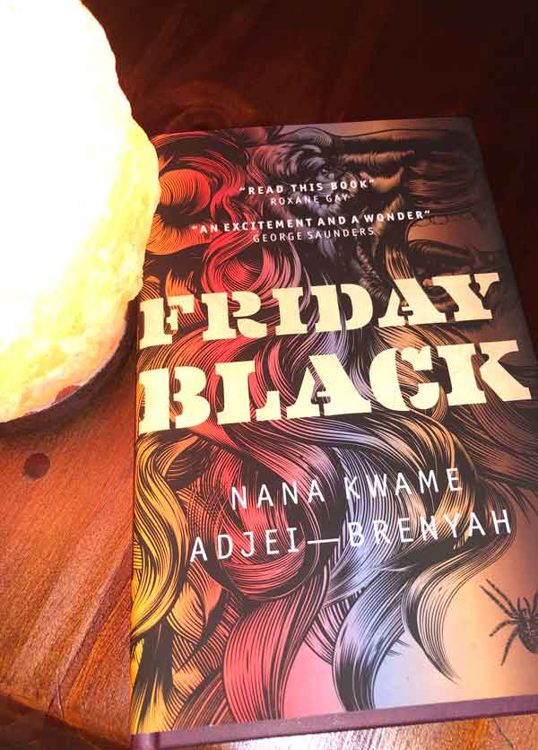 JustMeneesha, Meneesha Govender, book, reading, Friday Black, Nana Kwame Adjei-Brenyah, Durban